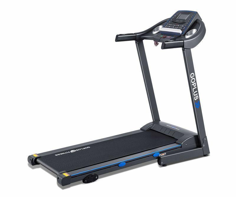 """<p><strong>GoPlus Fitness</strong></p><p>walmart.com</p><p><strong>$599.99</strong></p><p><a href=""""https://go.redirectingat.com?id=74968X1596630&url=https%3A%2F%2Fwww.walmart.com%2Fip%2F676764881&sref=https%3A%2F%2Fwww.redbookmag.com%2Flife%2Fg34807828%2Fblack-friday-treadmill-deals%2F"""" rel=""""nofollow noopener"""" target=""""_blank"""" data-ylk=""""slk:Shop Now"""" class=""""link rapid-noclick-resp"""">Shop Now</a></p><p>The GoPlus is a solid treadmill for its price; the only big drawback is that its speed maxes out at 7.5 mph. But, it still has a decent amount of power under its belt with a 2.25 HP motor, and handy five-inch LCD screen to display your pace and distance. You also get over 12 preprogramed workouts and a secure shelf for a tablet or magazine to help you pass the miles indoors. While the belt may feel a little short to some runners at 47 inches, the width meets the average for most belts at 17 inches, and it manually adjusts between three incline settings.<em><strong><br></strong></em></p><p><em><strong>Originally $799.99</strong></em></p>"""