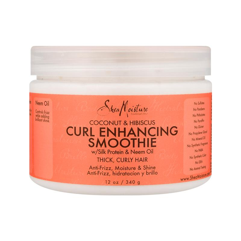 SheaMoisture Coconut & Hibiscus Curl Enhancing Smoothie. (Photo: Walmart)