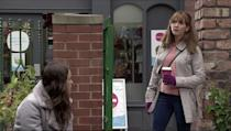 <p>Maria urges Faye to report Ray to the police before Gary gets to him.</p>