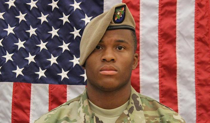 Spc. Etienne J. Murphy, 22, of Loganville, Ga., died May 26 in Al-Hasakah, Syria, of injuries sustained during a vehicle-rollover-related incident. (Photo: DOD)