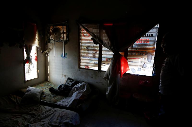 A view of the room of Maroly Bastardo, at her home in El Tigre, Venezuela, on June 3. (Photo: Ivan Alvarado/Reuters)