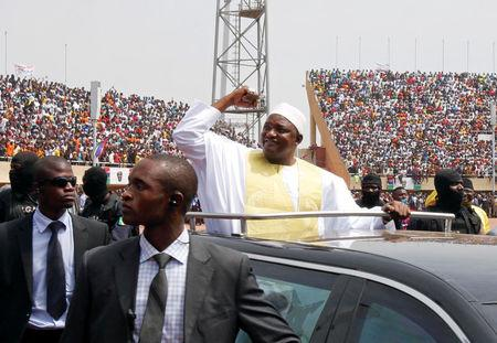 Adama Barrow Sworn in Again
