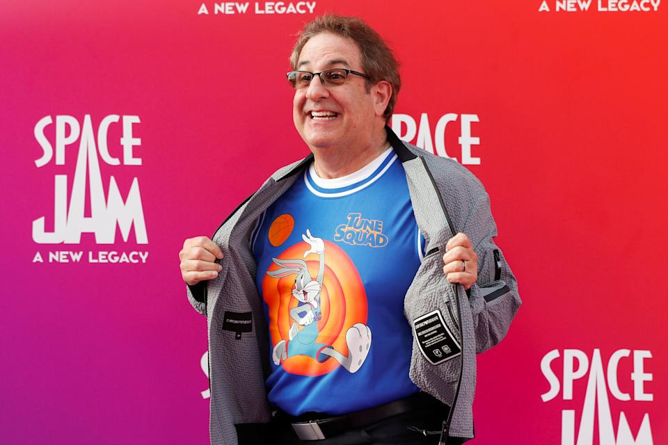 Cast member Jeff Bergman attends the premiere for the film Space Jam: A New Legacy in Los Angeles, California, U.S. July 12, 2021. REUTERS/Mario Anzuoni