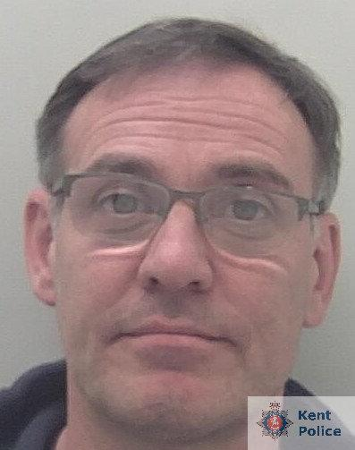"""Phillip Brown told police they caught him """"red handed"""". (Kent Police)"""
