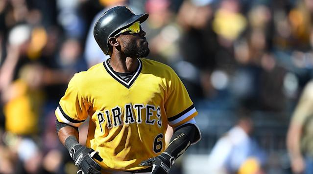 Pirates outfielder Starling Marte has been suspended 80 games after testing positive for performance enhancing drugs, the club announced Tuesday.