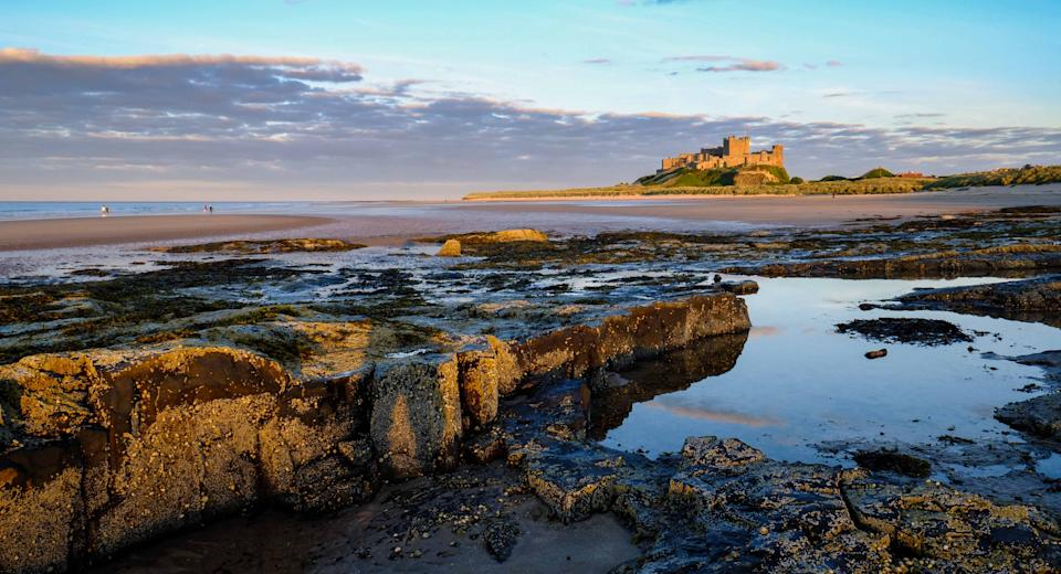 This Northumberland based beach has everything: sand dunes, spectacular views and even an 18th century castle. Voted one of the North East's best surf spots, this location is worth the journey. [Photo: Getty]