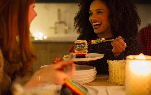 Can you still indulge in treats while eating healthy? Photo: Getty