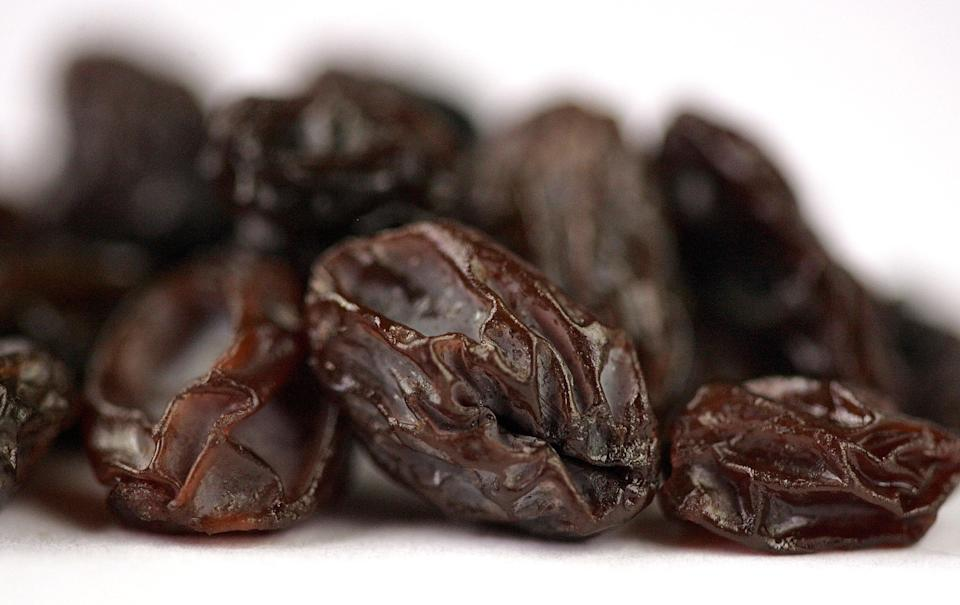 <p>Ms DeClerck eats nine gin-soaked raisins every morning </p> (Getty Images)