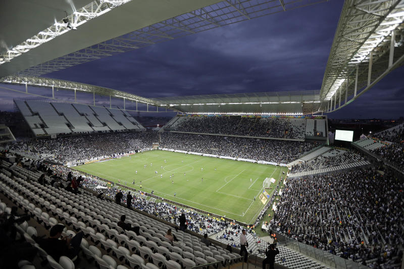 Officials approve temporary stands for WCup opener