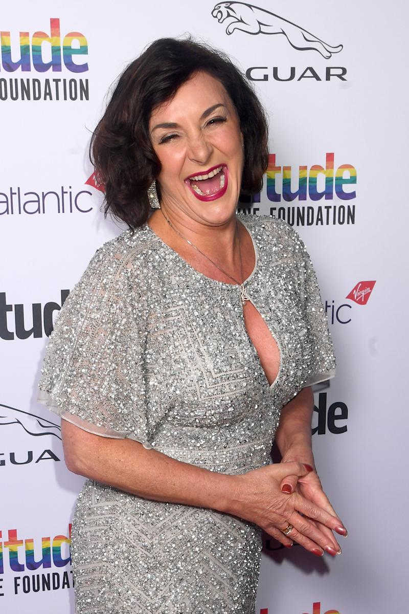 LONDON, ENGLAND - OCTOBER 09: Shirley Ballas attends the Attitude Awards 2019 at The Roundhouse on October 09, 2019 in London, England. (Photo by Dave J Hogan/Getty Images)