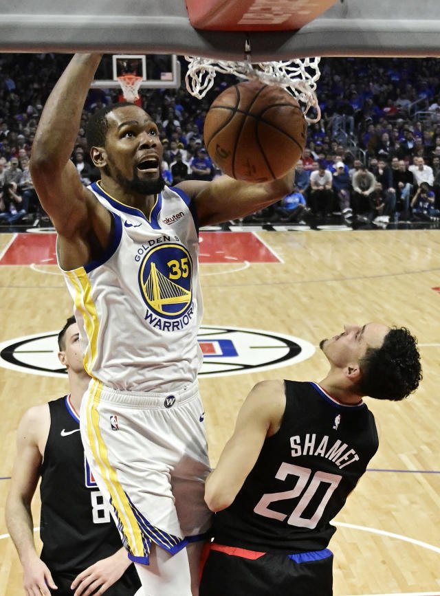 5adda3004b5 Golden State Warriors forward Kevin Durant