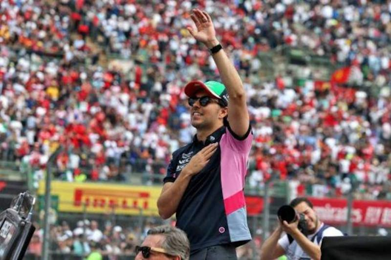 Sergio Perez Waiting for Coronavirus Test Clearance to Race in F1's 70th Anniversary GP