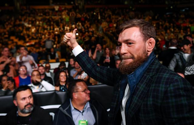 Conor McGregor had a lot to say about Khabib Nurmagomedov and how he won the 'real fight' while losing the actual fight. (Photo By Stephen McCarthy/Sportsfile via Getty Images)