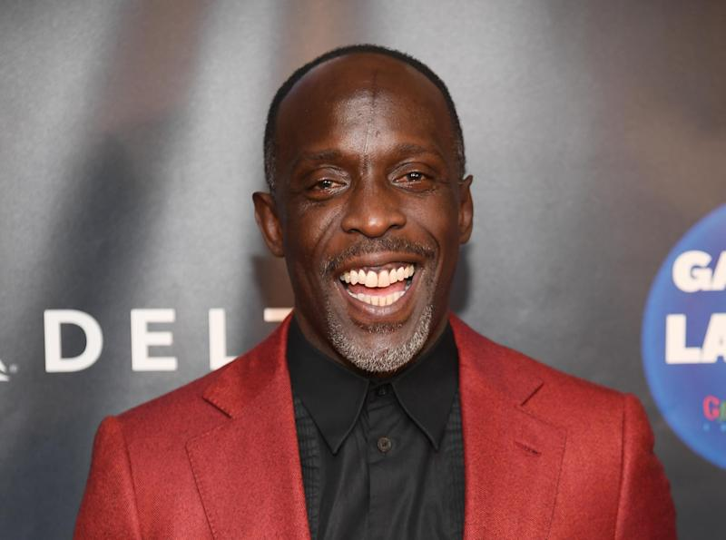 NEW YORK, NEW YORK - APRIL 02: Michael K. Williams attends the 2019 Garden Of Laughs Comedy Benefit at Madison Square Garden on April 02, 2019 in New York City. (Photo by Dimitrios Kambouris/Getty Images)