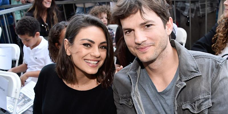 6f2e074eac0ed4 Ashton Kutcher and Mila Kunis Just Shut Down Divorce Rumors With a ...