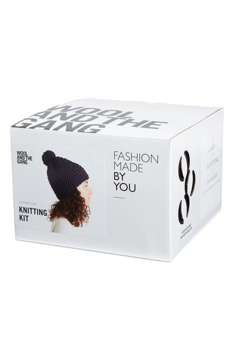 <p>If you still haven't found a beanie you love, use this <span>Wool and the Gang Happy Daze Beanie Knitting Kit</span> ($50) to make your own!</p>
