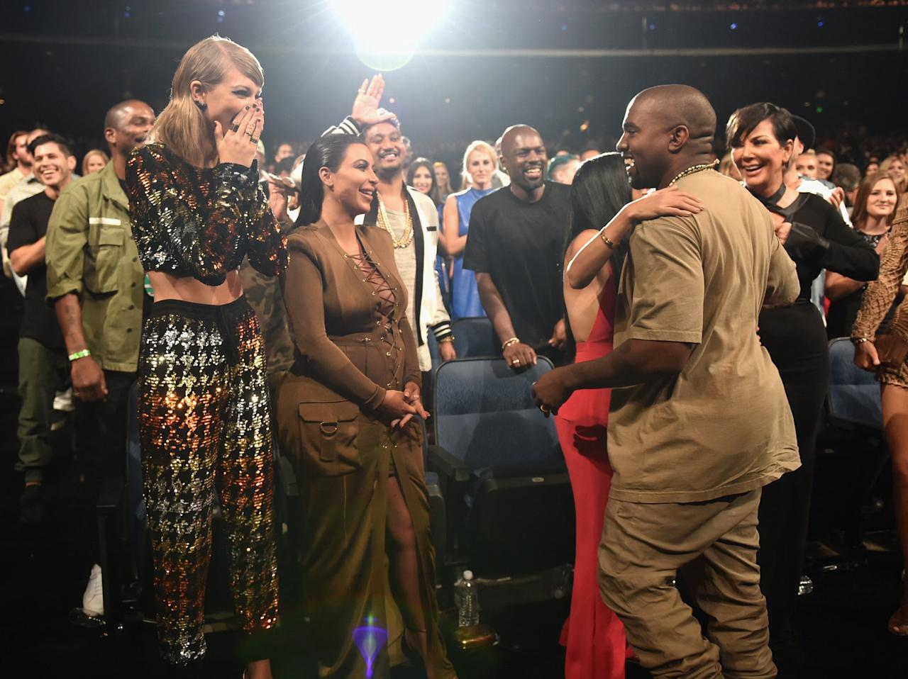 "<p>But first, a refresher: In 2016, Kanye released ""Famous,"" a song where he raps, ""I feel like me and Taylor might still have sex / I made that b*tch famous."" Taylor slammed the track upon its release and argued she was approached to share the song on Twitter but never saw its final lyrics. Kim came to her husband's defense and shared a video of a phone conversation between Taylor and Kanye, where she presumably heard the line and gave it her blessing. In response, Taylor stood her ground and added, ""I would very much like to be excluded from this narrative, one that I have never asked to be a part of, since 2009.""</p>"