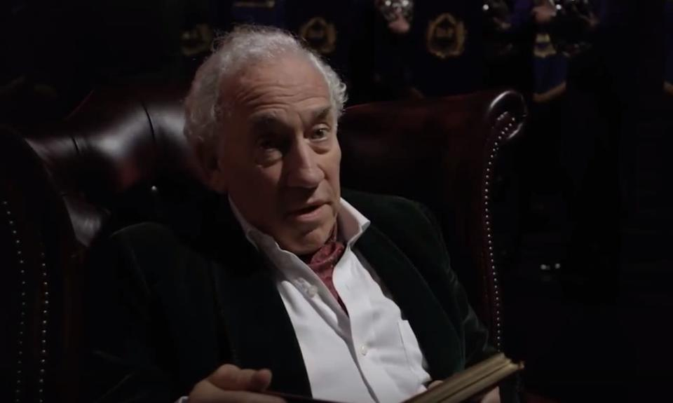 Simon Callow starred in a one-man production of 'A Christmas Carol' last year.