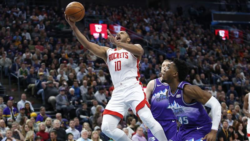 Eric Gordon scored a game-high 50 points in the Rockets' win over Western Conference rivals Utah