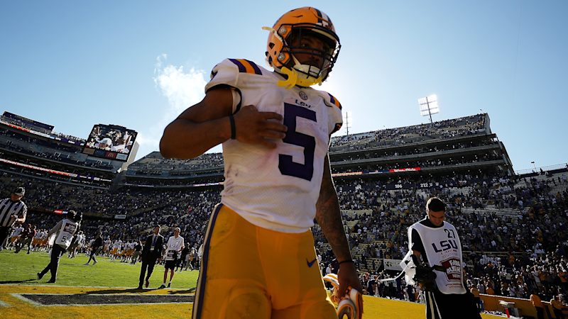 Two women say Derrius Guice raped them at LSU and school did not investigate