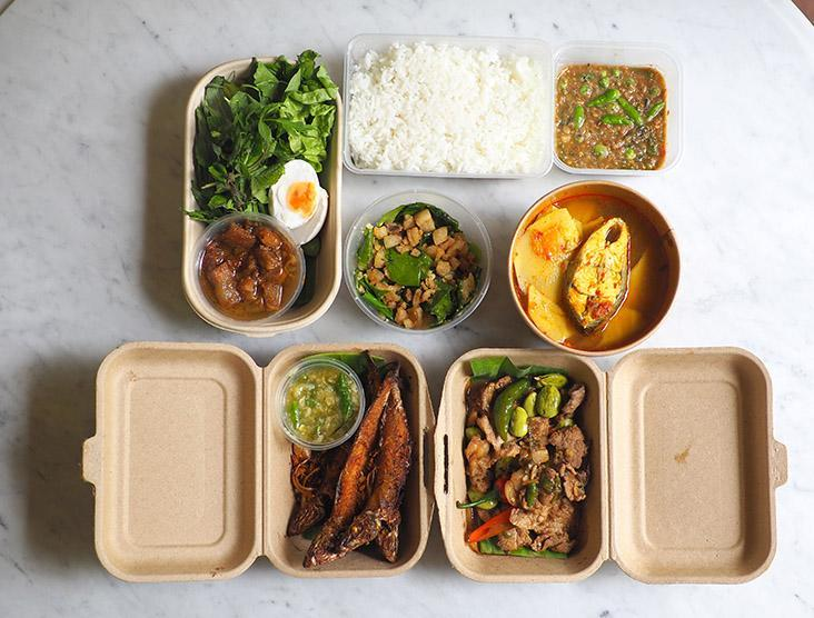 Your family meal is delivered in various packages that makes it a huge feast