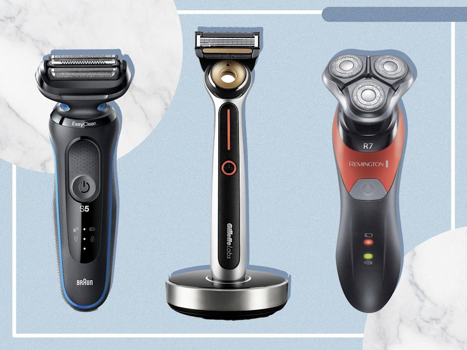 For a quick, professional shave at home we put rotary and foil shavers to the test (iStock/The Independent)