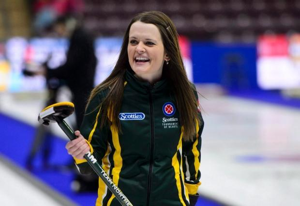 Tracy Fleury lone Canadian winner at 1st day of curling World Cup in Nebraska