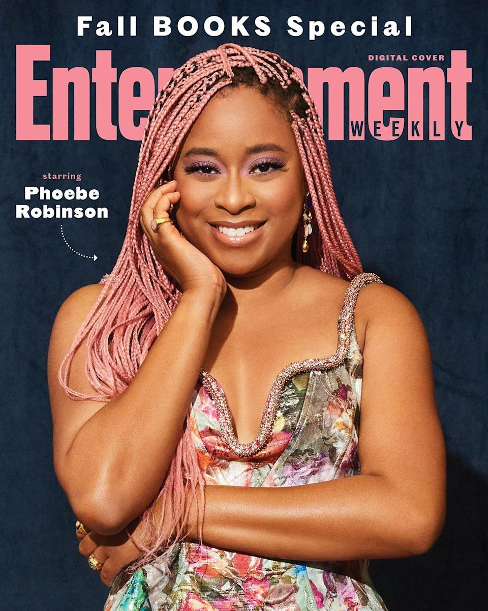 Fall Books Digital cover with Phoebe Robinson