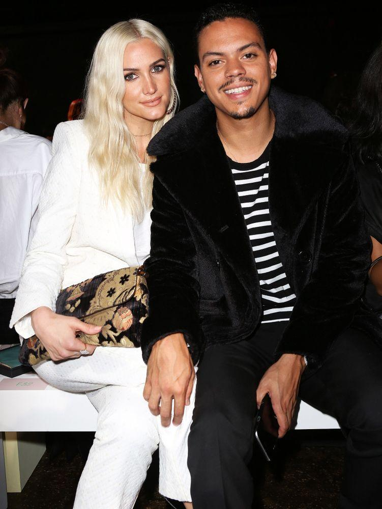 Ashlee Simpson-Ross and Evan Ross