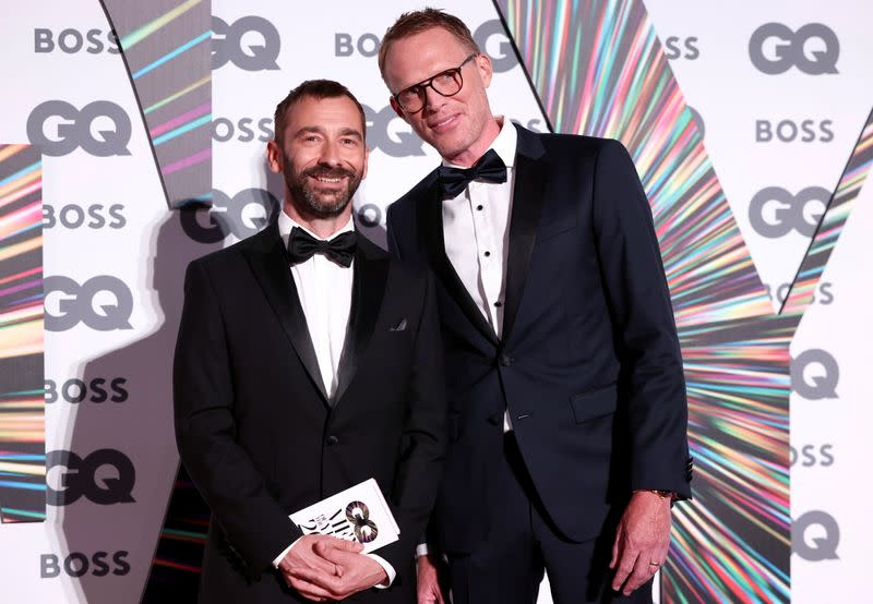 GQ Men Of The Year Awards 2021 in London