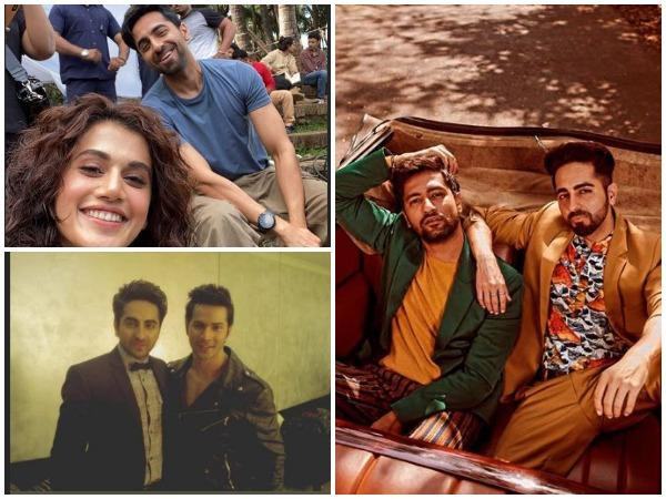 Collage of pictures shared by celebrities (Image courtesy: Instagram)