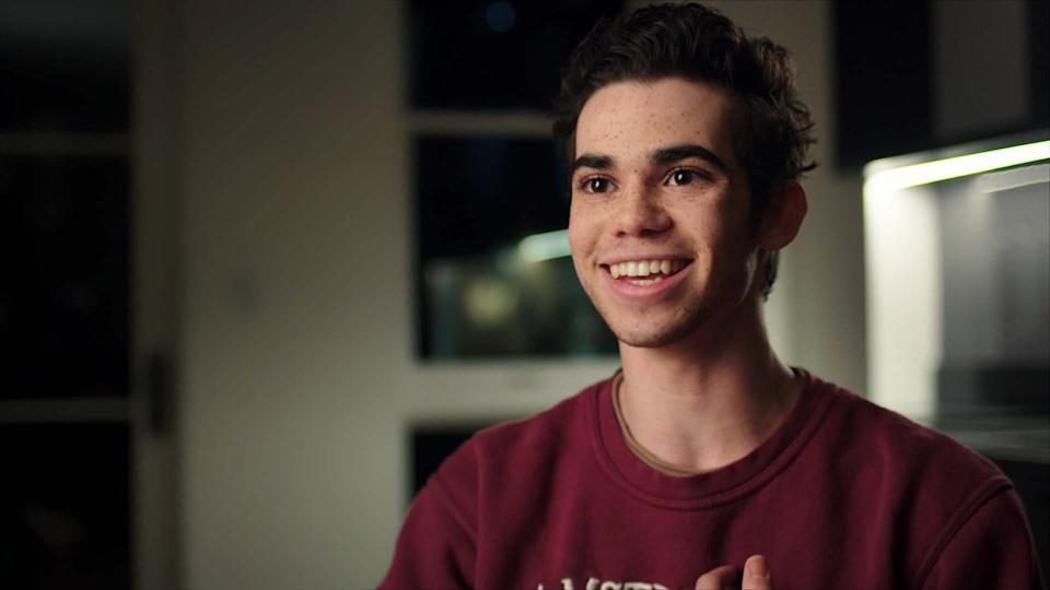 Former Disney star Cameron Boyce gave one of his last on-camera interviews in 'Showbiz Kids' (Photo: HBO)