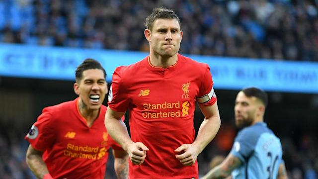 "Fourth-placed Liverpool are ready for a ""big push"" in the final weeks of the Premier League season, says James Milner."