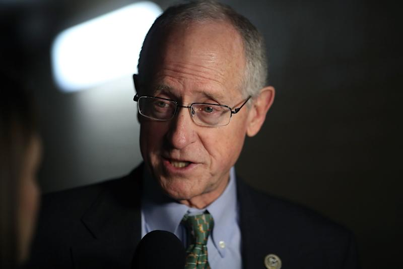 Rep. Mike Conaway (R-Texas) speaks to the media on Capitol Hill on Jan. 30. (Mark Wilson via Getty Images)