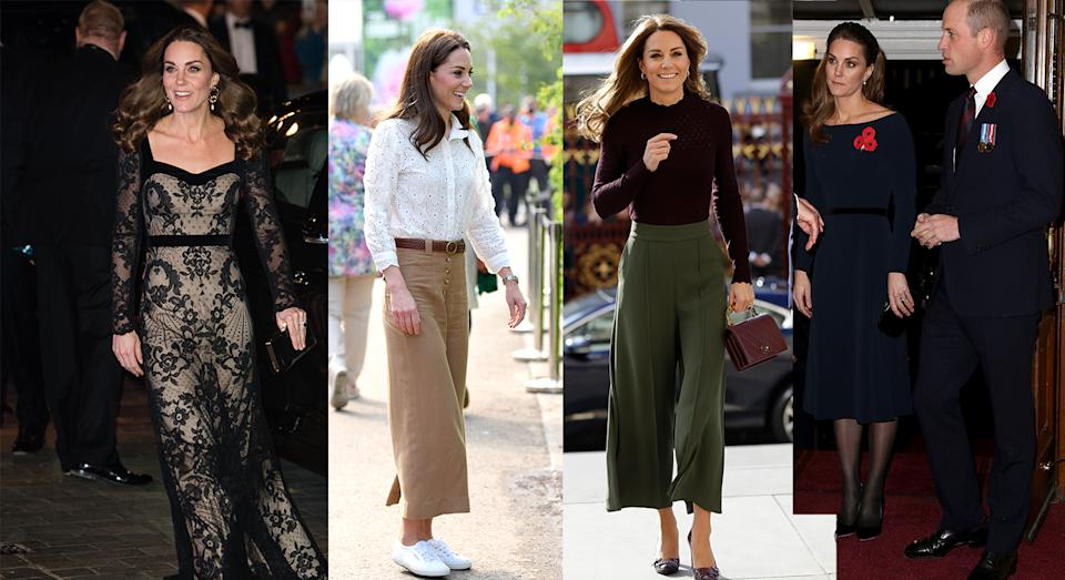 Kate Middleton celebrates her 38th birthday and to mark the milestone we are taking a look back at her best fashion moments [Photo: Getty]