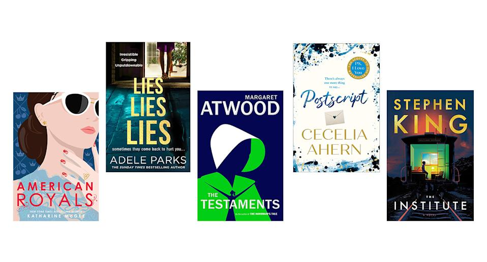 September's top book selection offers something for everyone [Photo: Yahoo UK]