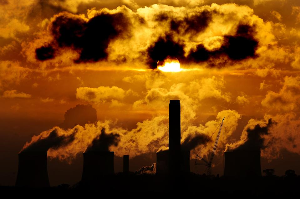 Sunset over a coal-fired power station (PA Archive)