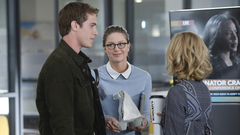 Exclusive Melissa Benoist And Her Real Life Husband Blake Jenner Are Too Cute In This Supergirl Sneak Peek