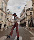 """<p>Model Ashley Moore showed off the same style in her own Instagram post. She completed the look with the brand's circular tassel belt. (Photo: Instagram/<a rel=""""nofollow noopener"""" href=""""https://www.instagram.com/ashley_moore_/"""" target=""""_blank"""" data-ylk=""""slk:ashley_moore_"""" class=""""link rapid-noclick-resp"""">ashley_moore_</a>) </p>"""