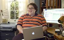 """<p>Jonah's first big role was playing unashamedly """"token"""" chubby geek Sherman Schrader in 2006 made-up college comedy 'Accepted'…<br></p>"""