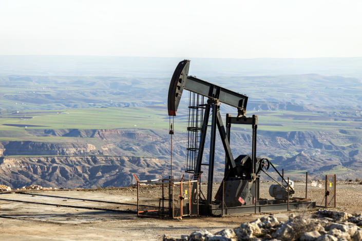 Countries outside the OPEC+ group are expected to boost output by 1.6 million barrels per d next year, to exceed 2019 levels. Photo: Getty