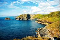 <p>On the southwestern tip of the U.K., jutting out into the Atlantic Ocean is Cornwall. The sleepy piece of English coastline is a bit difficult to travel to, but well worth the trek. Run along miles of rugged coast and stop in every village for a pint or a plate of fish and chips.</p>