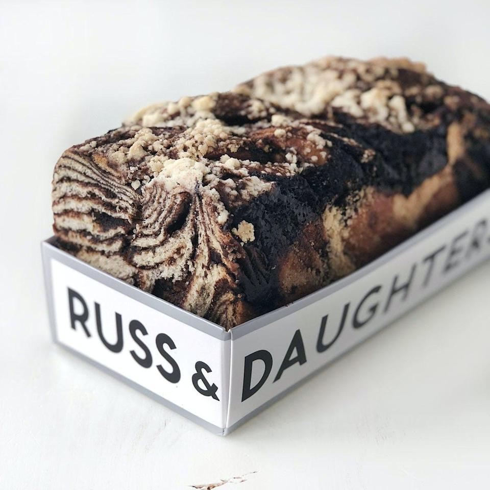 <p>If they feel like sharing this <span>Russ &amp; Daughters Chocolate Babka</span> ($14), they're welcome to, but it can also be a treat just for them.</p>