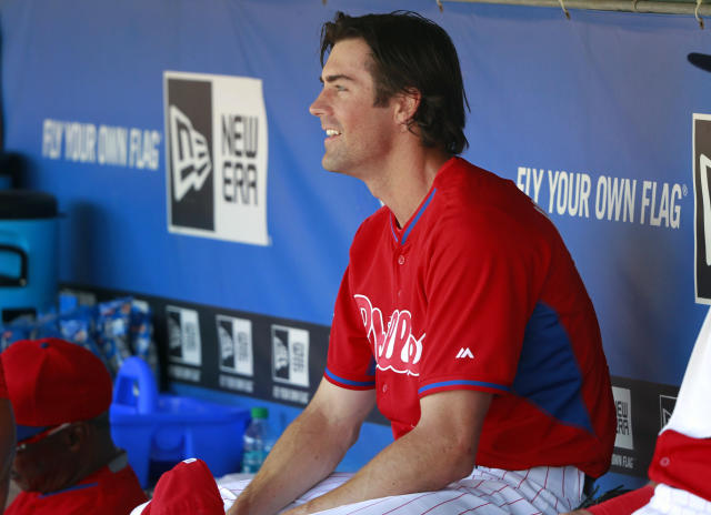 Cole Hamels' days with the Phillies are numbered. The question is: Where's he going next? (USA TODAY Sports)