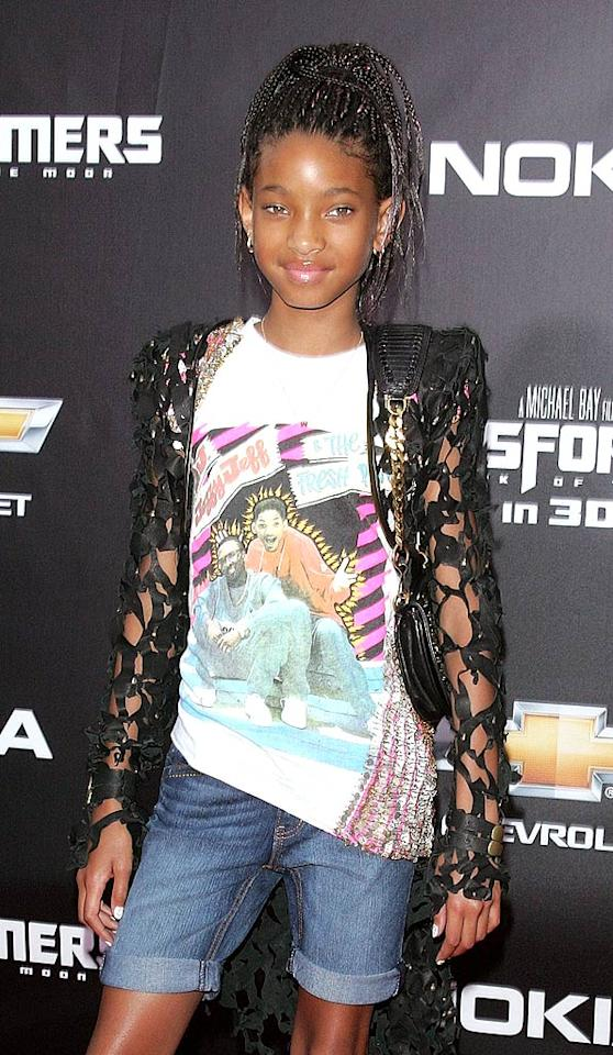 Willow Smith (the daughter of Will Smith) turns 11.