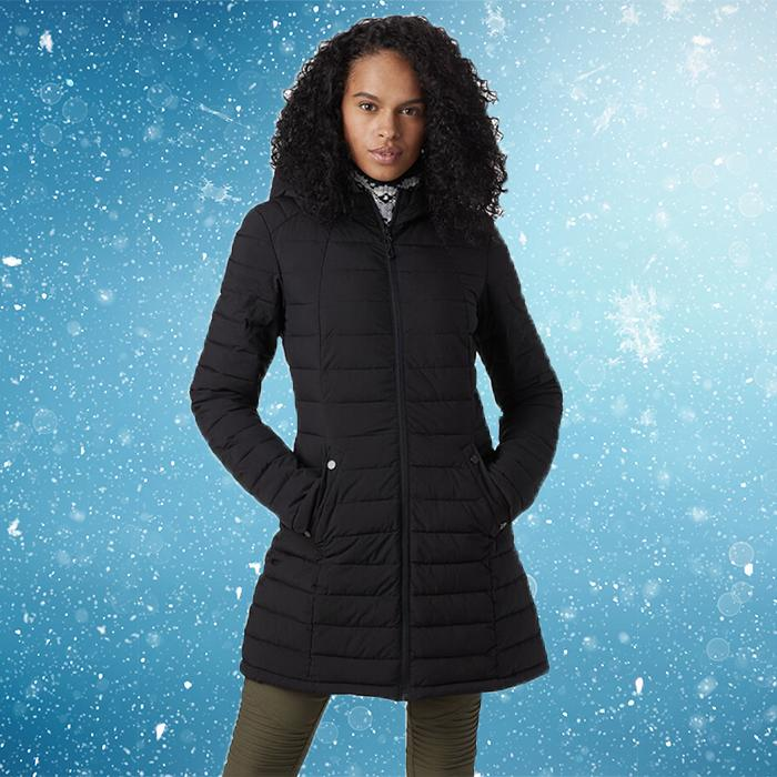 A flattering shape—and extra warmth—with butt coverage. You'll use it every day. (Photo: Backcountry)