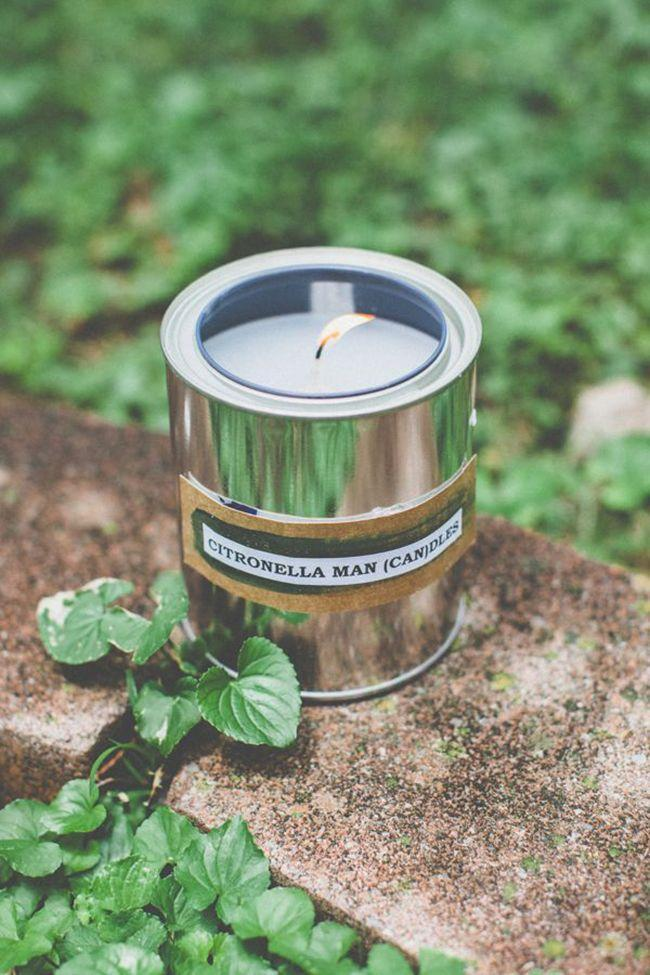 """<p>These citronella """"mandles"""" are a great gift for any outdoorsman. Using paint cans, candle wax, wicks and citronella essential oil, give him a way to repel mosquitos in style. </p><p><strong>Get the tutorial at <a href=""""http://helloglow.co/how-to-make-citronella-candles-in-paint-cans/"""" rel=""""nofollow noopener"""" target=""""_blank"""" data-ylk=""""slk:Hello Glow"""" class=""""link rapid-noclick-resp"""">Hello Glow</a>.</strong> </p>"""