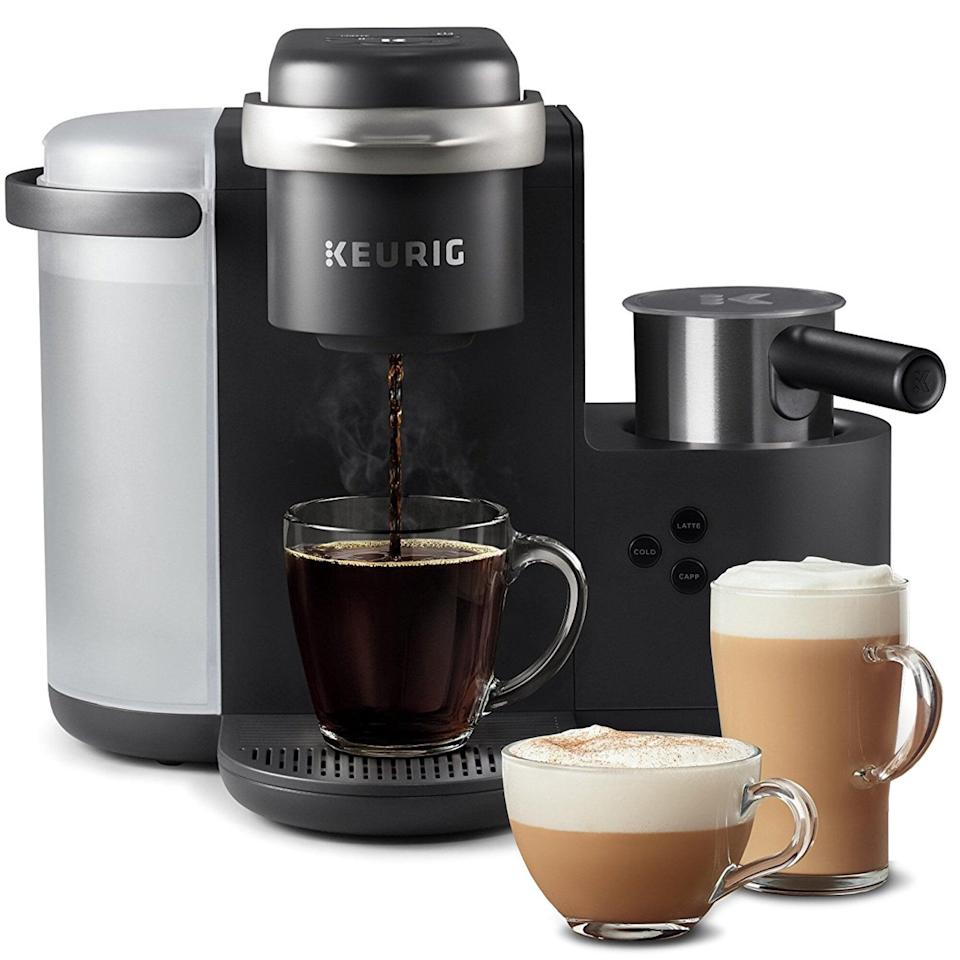 <p>This <span>Keurig K-Café Single Serve Coffee, Latte &amp; Cappuccino Maker</span> ($200) is always a great gift.</p>