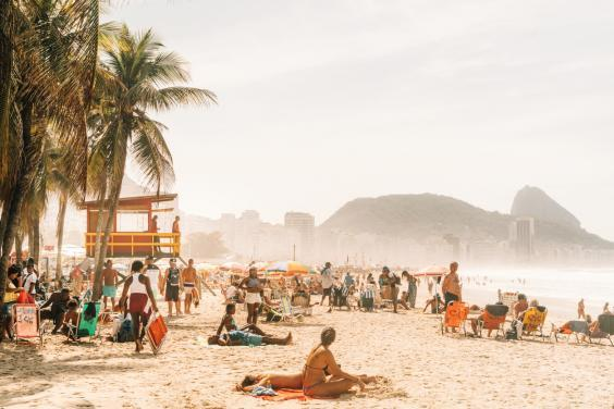 Copacabana beach is where to spot Rio's bright young things (Getty Images)
