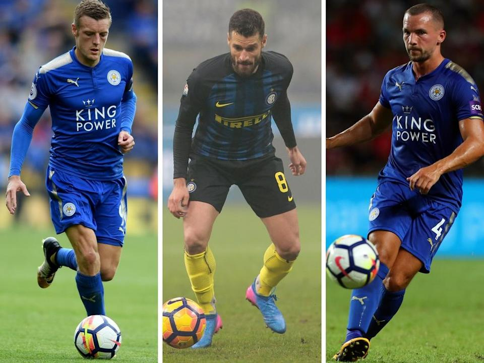 Vardy, Candreva and Drinkwater: Chelsea bound?